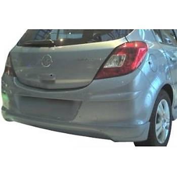 Opel Corsa D Arka Difizör Tek Kapý Ýçin