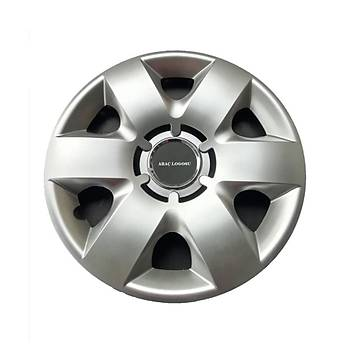 Peugeot Uyumlu 15 inç Jant Kapaðý 4 Adet Esnek Kýrýlmaz Kapak 310