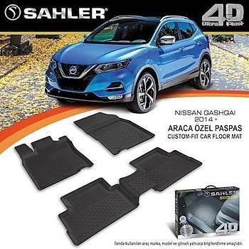Nissan Qashqai 2014- Sonrasý 4.5D Havuzlu Paspas Sahler