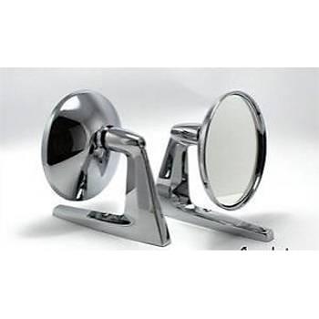 Yuvarlak Dýþ Dikiz Ayna Nova Tip Nostalji Amerikan Ayna  2 Adet