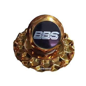 BBS RS2 Gold Jant Göbeði Kapaðý 1 Adet