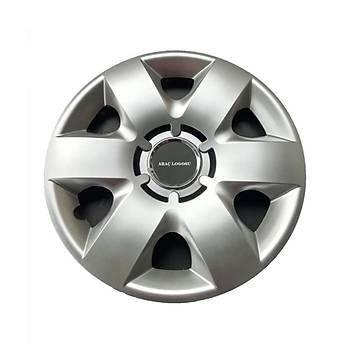 Nissan Uyumlu 14 inç Jant Kapaðý 4 Adet Esnek Kýrýlmaz Kapak 215