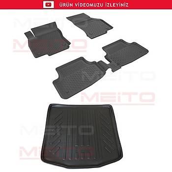VW JETTA 2005-2010 SAHLER HAVUZLU 4.5D PASPAS 3D BAGAJ HAVUZU SET