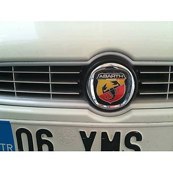 Fiat Bravo Abarth Logo Ön Ve Arka