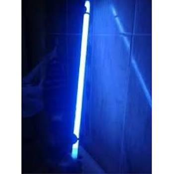 Mavi Floresan Lamba 12 Volt 8 Watt F8 Blue 30 cm