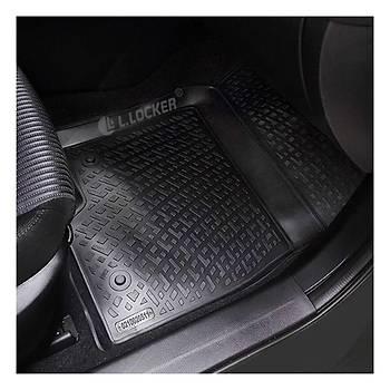 L.Locker Nissan Micra  2013 sonrasý 3D Havuzlu Paspas (Bej)