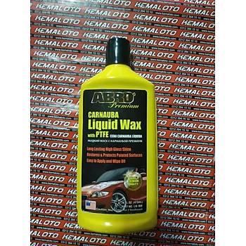 ABRO Carnauba Wax, Islak Görünüm Veren Wax