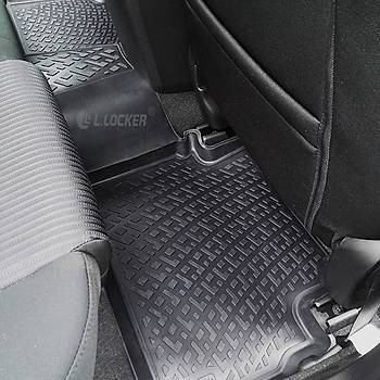 L.Locker Toyota Avensis 2002-2008 Arasý 3D Paspas + Bagaj Havuzu
