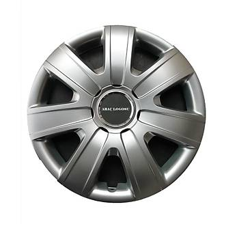 Chevrolet Uyumlu 16 inç Jant Kapaðý 4 Adet Esnek Kýrýlmaz Kapak 415