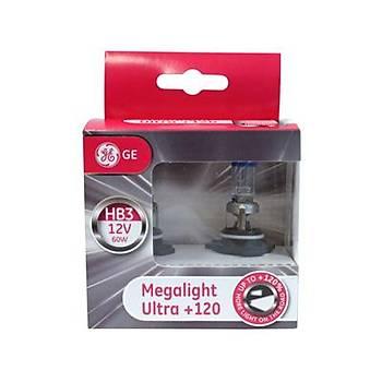 General Elektrik 9005 HB3 Megalight Ultra 120