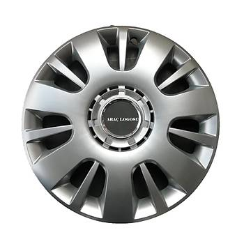 Chevrolet Uyumlu  15 inç Jant Kapaðý 4 Adet Esnek Kýrýlmaz Kapak 312