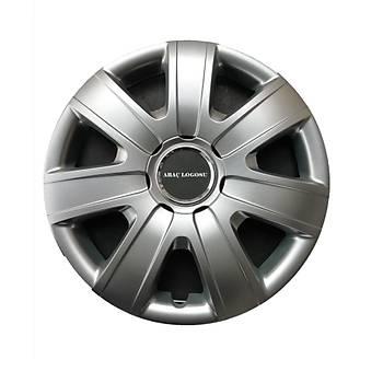 Volkswagen Uyumlu 15 inç Jant Kapağı 4 Adet Esnek Kırılmaz Kapak 325