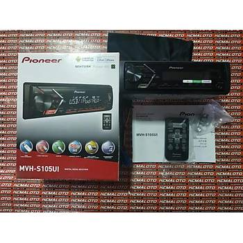 PIONEER MVH-105 USB-RADYO-4X50W 2018 YENÝ MODEL OTO TEYP-FATURALI