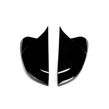 Honda Civic FC5 2016-2019 Yarasa Ayna Kapaðý Batman Piano Black