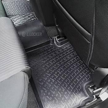 L.Locker Ford Connect II 2012 Sonrasý 3D Paspas + Bagaj Havuzu