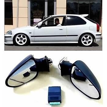 Honda Civic Elektrikli Katlanýr Ayna 96-02