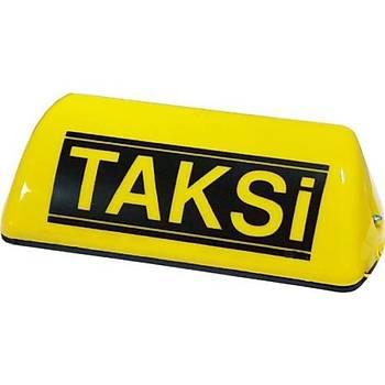 Mýknatýslý Taksi Levhasý Sarý