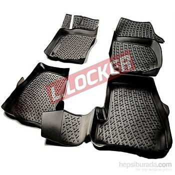 L.Locker Volkswagen Golf 7 2013 Sonrasý 3D Havuzlu Paspas