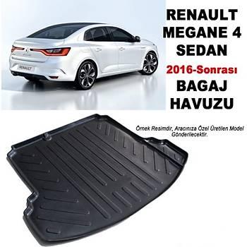 Renault Megane 4  3D BAGAJ HAVUZU 2016-2018 Arasý SEDAN