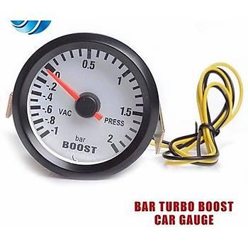 Turbo Bar Vacuum Gosterge Saati Iþýklý