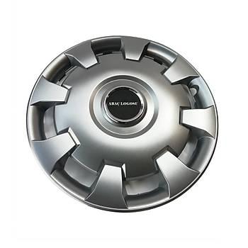 Daewoo Uyumlu 15 inç Jant Kapaðý 4 Adet Esnek Kýrýlmaz Kapak 303
