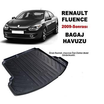 Renault Fluence 2009 Sonrasý 3D Bagaj Havuzu 3D Bagaj Havuzu