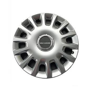 Chevrolet Uyumlu  13 inç Jant Kapaðý 4 Adet Esnek Kýrýlmaz Kapak 109