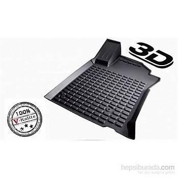 L.Locker Nissan Qashqai 2014 Sonrasý 3D Havuzlu Paspas