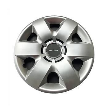 Peugeot Uyumlu 14 inç Jant Kapaðý 4 Adet Esnek Kýrýlmaz Kapak 215
