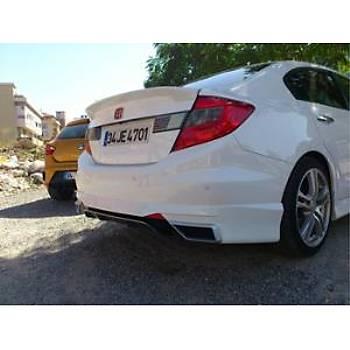 Honda Civic Arka Difizör 2012 - 2