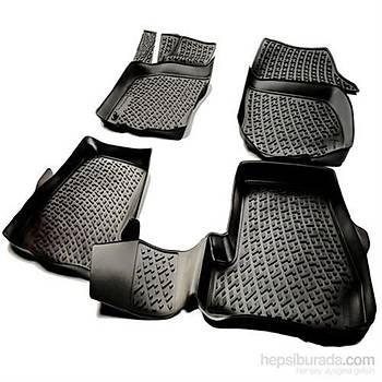 Fiat Egea 3D Havuzlu Paspas 4D bariyerli