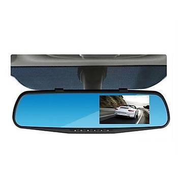 Dikiz Ayna Kamerasý Ön Kamera Kameralý Araç Kayýt Cihazý 1080P Arka Kamera 720P 170 Derece Ön Görüþ 120 Derece Geri Görüþ