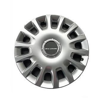 Chevrolet Uyumlu 14 inç Jant Kapaðý 4 Adet Esnek Kýrýlmaz Kapak 307