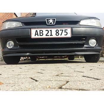 Peugeot 106 uyumlu ÇUPRA Ön Tampon Lipi Cupra Lip 3 Parça
