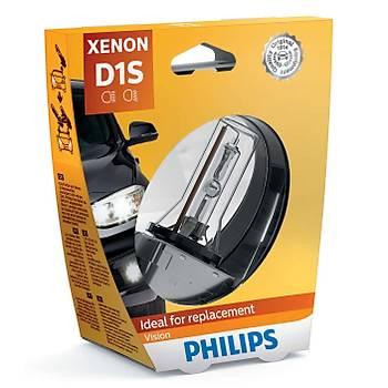 Philips D1S Xenon Ampul 35w 85v 4600k ORJÝNAL