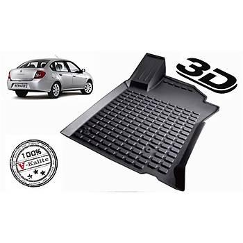 L.Locker Renault Symbol 2009-2012 3D Havuzlu Paspas