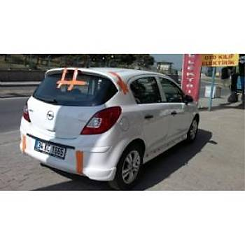 Opel Corsa D Arka Difizör 2