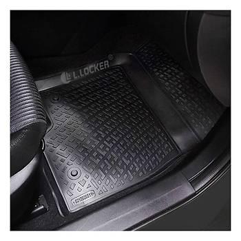 L.Locker VW Passat B6 2005-2011 3D Paspas Siyah