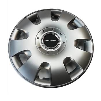 Daewoo Uyumlu  13 inç Jant Kapaðý 4 Adet Esnek Kýrýlmaz Kapak 107