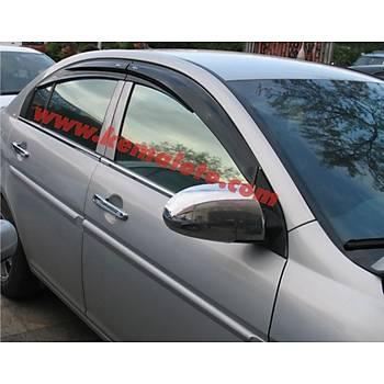 Hyundai Accent Ayna Kapaðý Nikelajý Krom