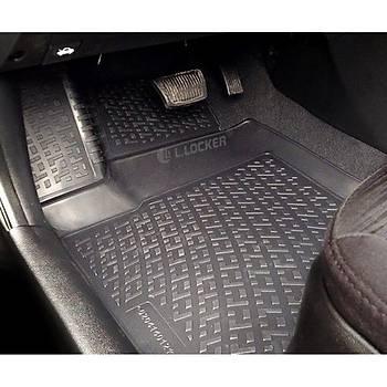 L.Locker Volkswagen Caravelle 2002 Sonrasý 3D Havuzlu Paspas