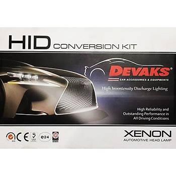 Devaks Xenon Kit h4 Çift Devre
