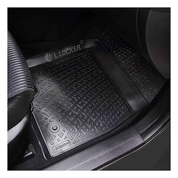 L.Locker Audi Q7 2015 3D Havuzlu Paspas (Bej)