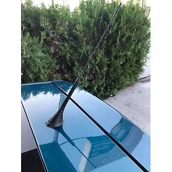 Peugeot 307 Çubuk Tavan Anteni Yüksek Çekim Gücü Esnek radio uyumlu