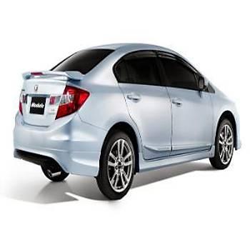 Honda Civic Arka Difizör 2012 - 3
