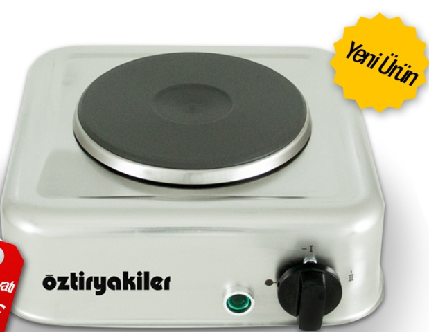 öztiryakiler Set üstü Tekli Elektrikli Mini Ocaköztiryakiler Set