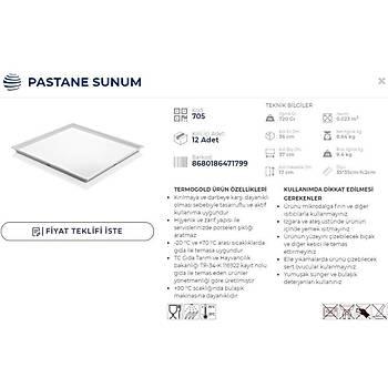 SUNUM TABAÐI PASTANE SUNUM 35x35 (3 RENK )