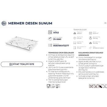 MERMER SUNUM TABAÐI PASTANE SUNUM 35x25