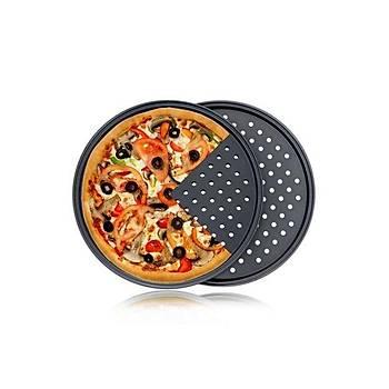 Pizza Tavasý Delikli Teflon 20 cm
