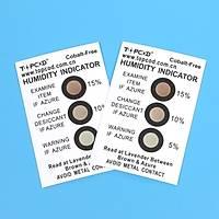 Nem Ýndikatör Kartý (Cobalt free, brown to azure, 3 dots %5-10-15) (200 adet)